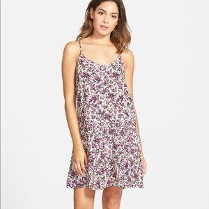 VOLCOM Petalhead (Floral) Mini Slip Dress
